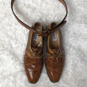 Men's Mauri alligator dress shoes
